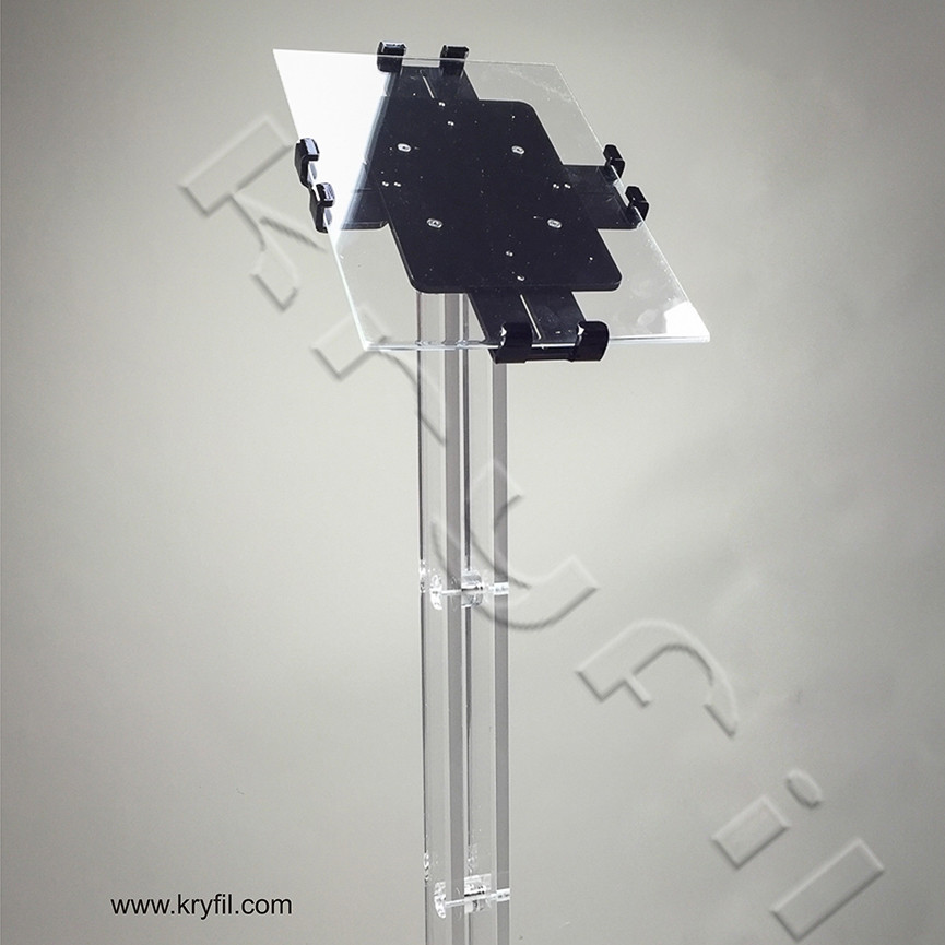 Adjustable Acrylic Lectern Trendy for iPad2 and new iPad