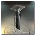 Acrylic Pulpit for Churches Dubai