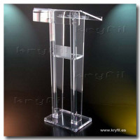 Acrylic lecterns, Plexiglass podiums, Lucite pulpits
