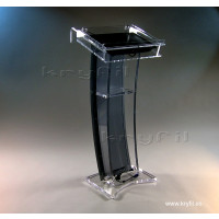 Acrylic Lectern with Flat Screen