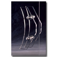 Acrylic Handle for Glass doors
