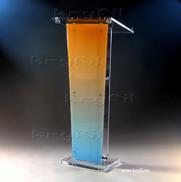 Combined acrylic lecterns