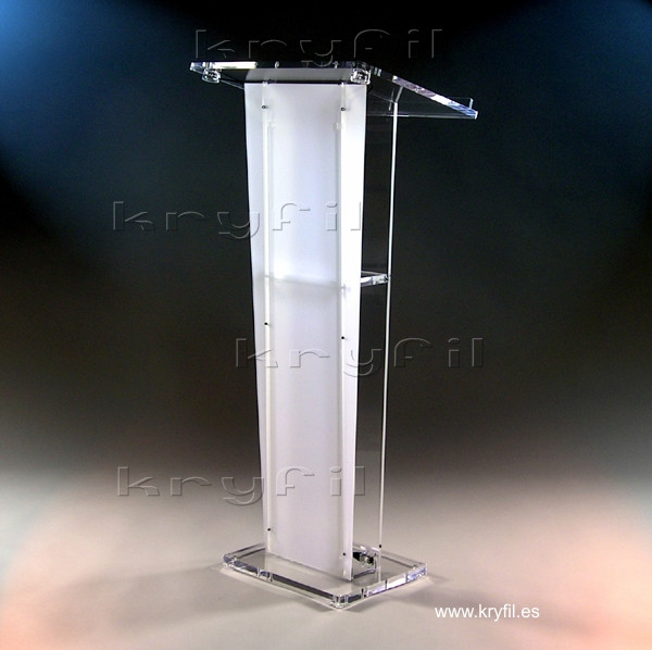 Acrylic lecterns for churches