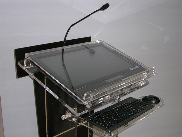 Professional full equiped acrylic lecterns