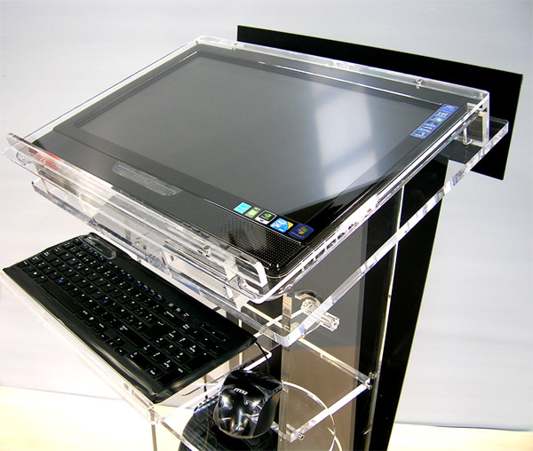 multi-touch acrylic top table