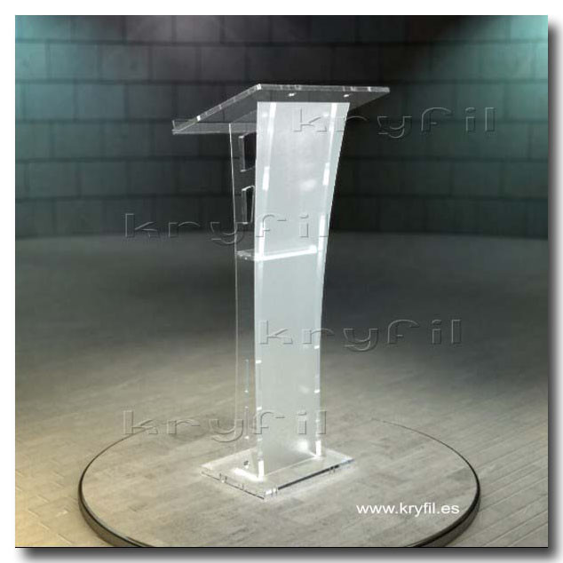 Acrylic design lecterns