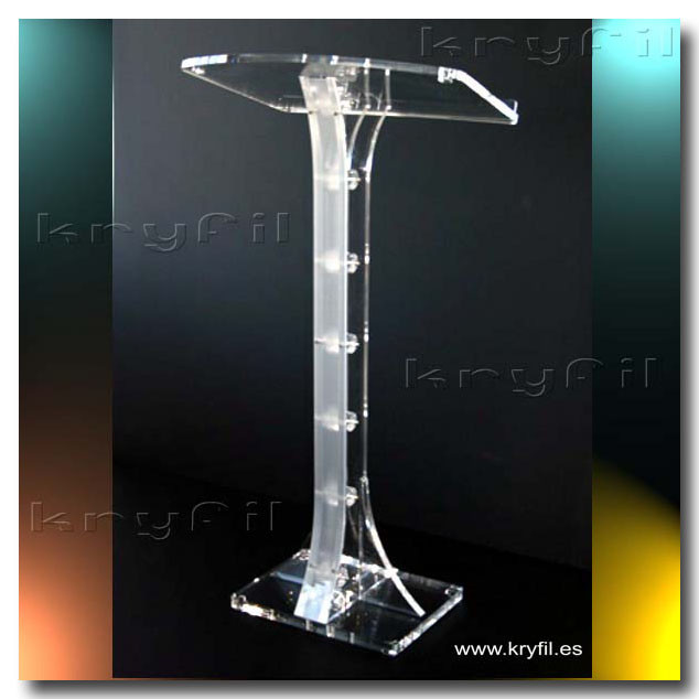 Elegant acrylic lectern for conferences and events