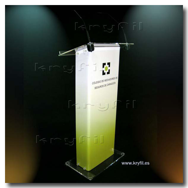 Detachable Acrylic Lectern for conferences and events