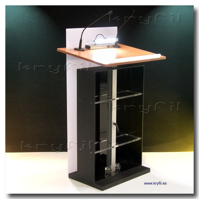 Adjustable Height podiums and lecterns