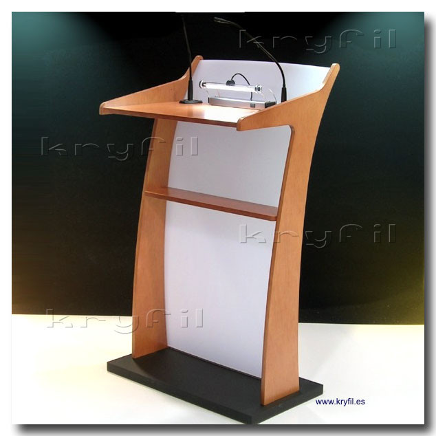 Podiums, lecterns and pulpit stands
