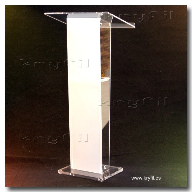 Low cost acrylic lectern