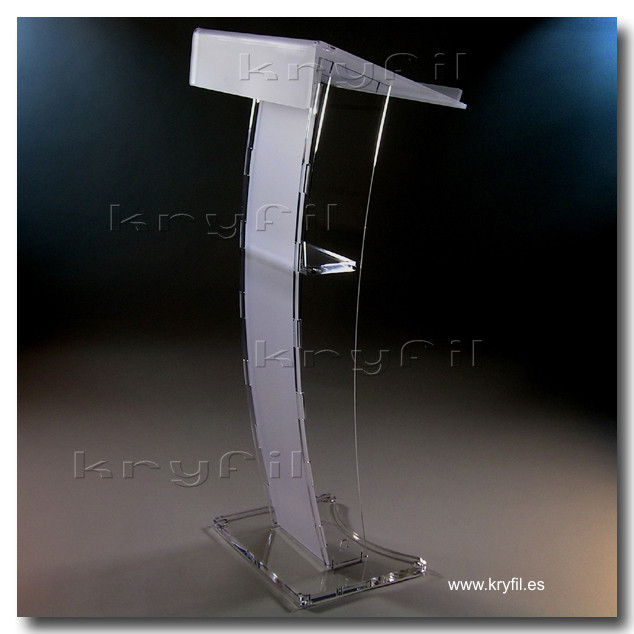 Clear Acrylic lecterns and podiums