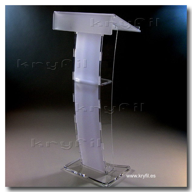 Acrylic lecterns and podiums for churches