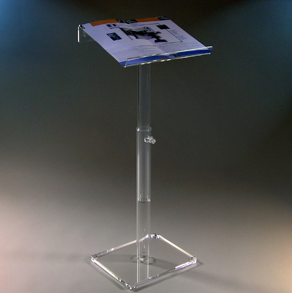 Adjustable Acrylic Lecture Stand